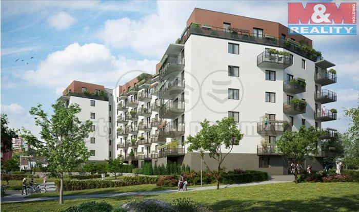 Prodej, byt 1+kk, 52 m2, Praha 9 - Letňany, ul. Beranových