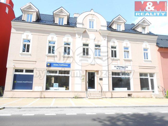Pronájem, kancelářské prostory, 88 m2, Karlovy Vary