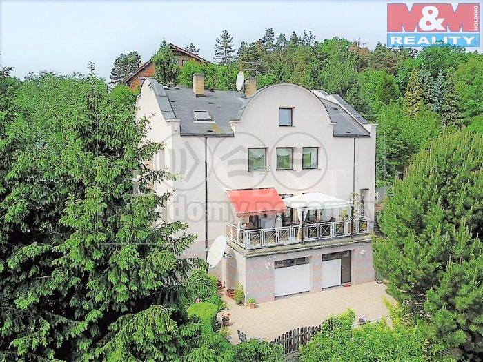 Prodej, rodinný dům, 600 m2, Praha 5, vila s pozem.2676 m2