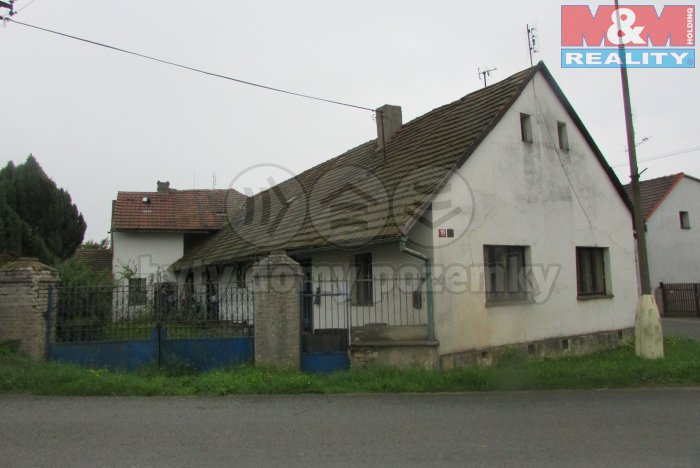 Prodej, rodinný dům 3+1, Kněževes u Rakovníka