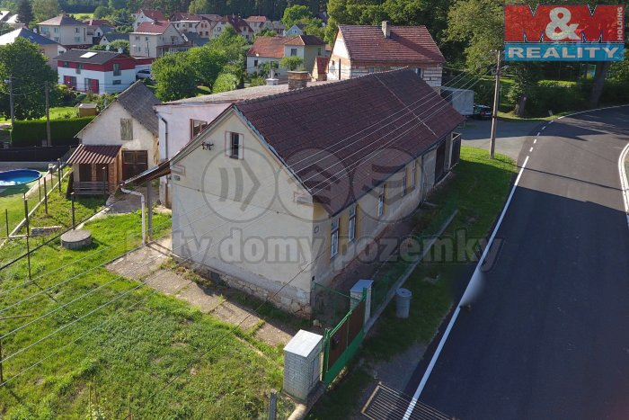 Prodej, rodinný dům 3+1, 2398 m2, Trhový Štěpánov
