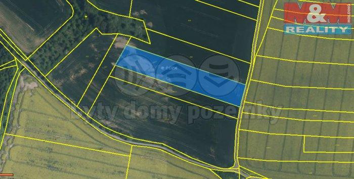 Prodej, pole (pro budoucí výstavbu) 5 709 m2, Plzeň