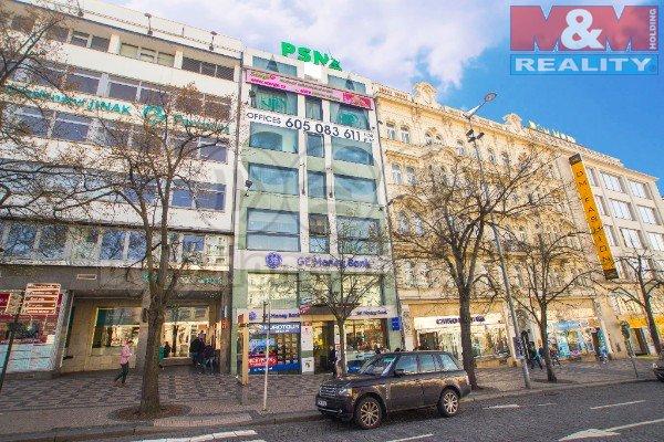 Pronájem, kancelářské prostory 175m2, Praha, Václavské nám.
