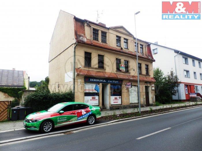 Prodej, komerční objekt, 141 m2, Kraslice, ul. Dukelská