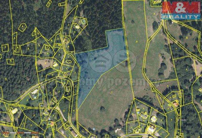 Prodej, pozemek, 13478 m2, Albrechtice v Jizerských horách