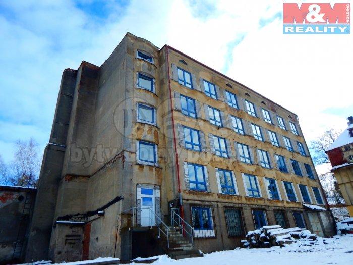 Prodej, výrobní objekt, 3300 m2, OV, Vejprty, ul. Alešova