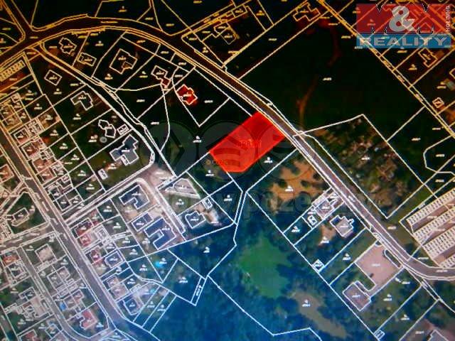 Prodej, stavební parcela, 1943 m2, Chomutov