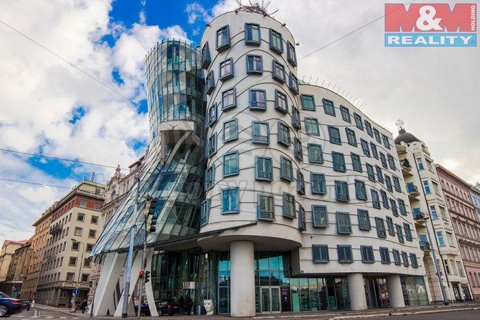 Pronájem, kancelářské prostory, 83 m2, Praha - Tančící dům