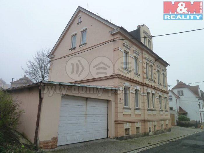 Prodej, nájemní dům, 459 m2, Aš, ul. Údolní