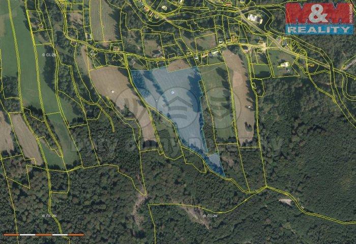 Prodej, pozemek, 38031 m2, Bílý potok