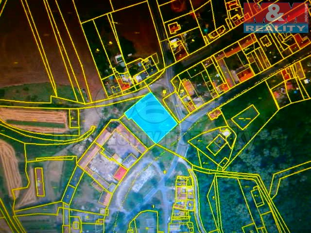 Prodej, stavební parcela, 2330 m2, Břvany