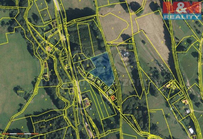 Prodej, pozemek, 3929 m2, Benecko - Mrklov