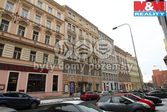 Pronájem, obchodní prostor, 98 m2, Praha 2, ul. Slezská