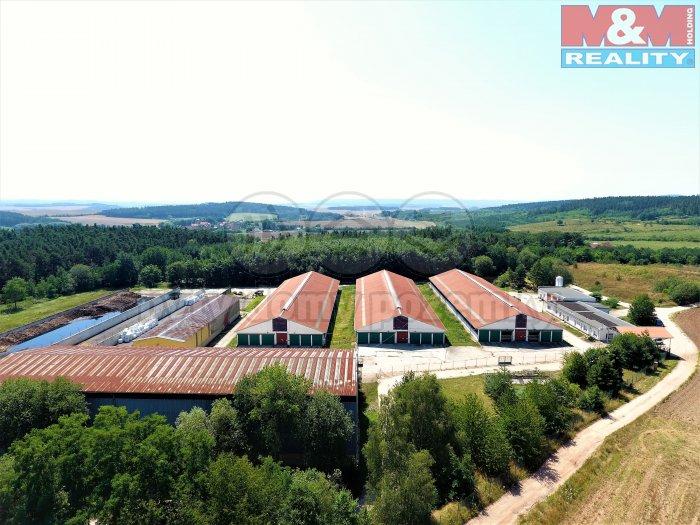Zemědělský areál, 44173 m2, Valov, Podbořany