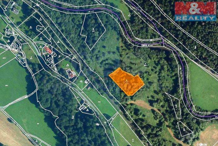 Prodej, les, 2982 m2, Široká Niva-Skrbovice