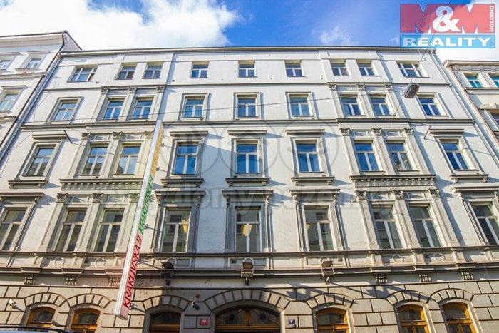 Pronájem, kancelářské prostory, 35,25 m2, Krakovská, Praha 1