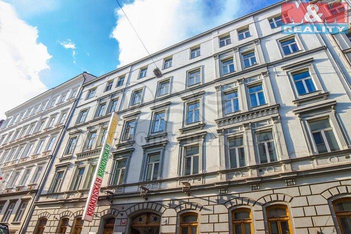 Pronájem, kancelářské prostory, 141 m2, Krakovská, Praha 1