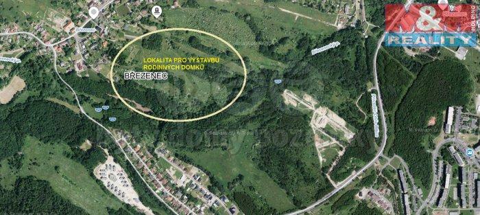 Prodej, stavební pozemek, 2896 m2, Březenec, Jirkov