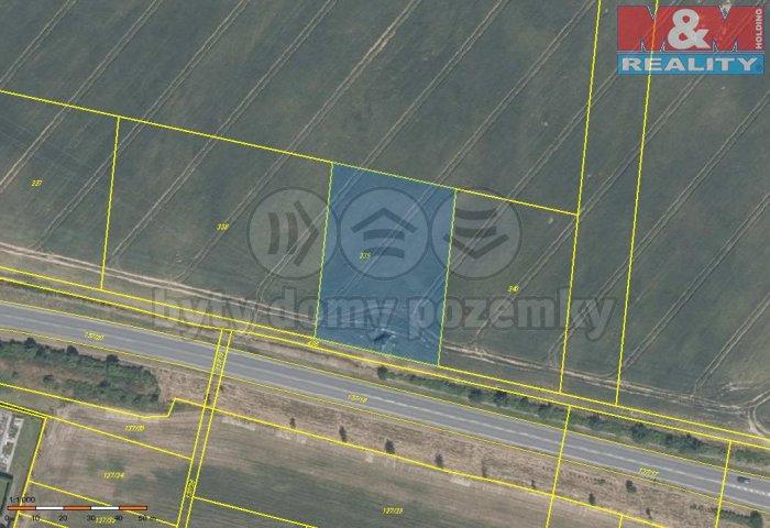 Prodej, orná půda, 2874 m2, Vašírov