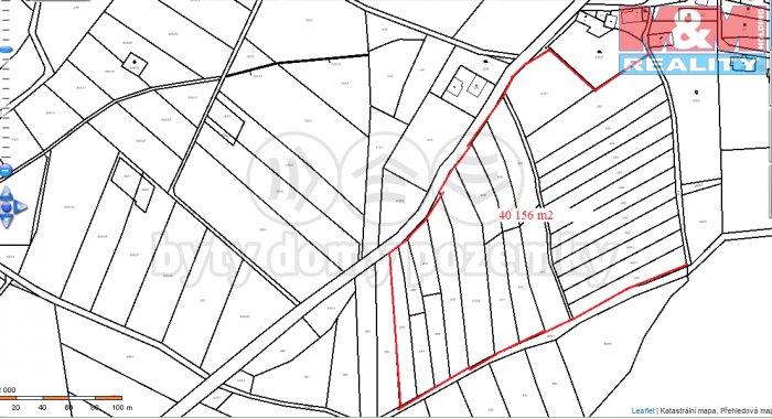 Prodej, stavební pozemek, 40156 m2, Lovečkovice