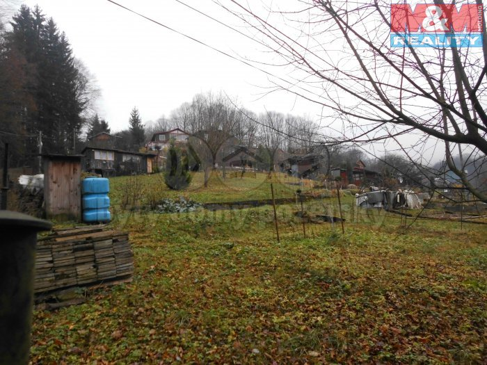Prodej, zahrada, 1239 m2, Vsetín, Potůčky