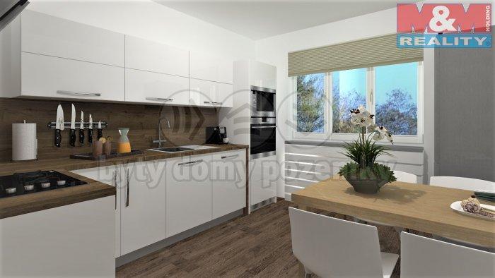 Prodej, byt 3+1, 76 m², DV, Brno, ul. Hochmanova