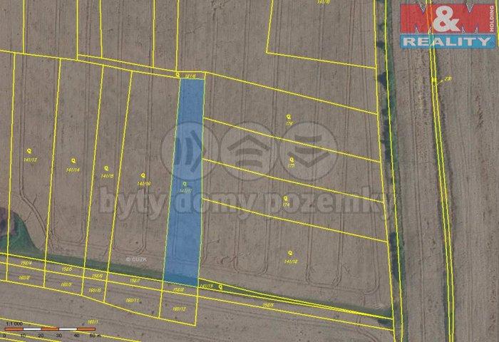 Prodej, orná půda, 3490 m2, Sedlec u Libochovic