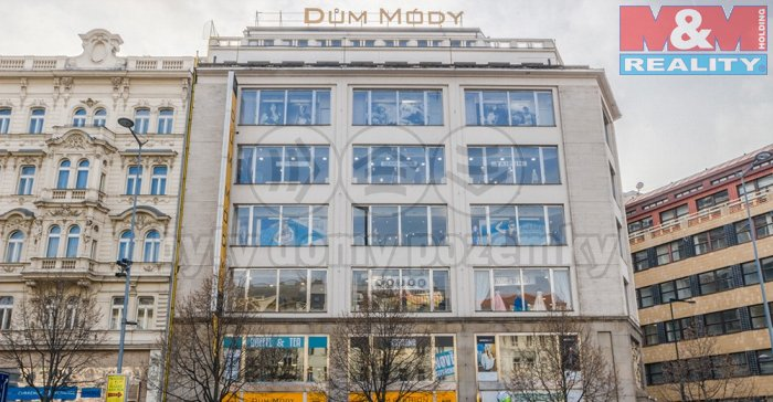 Pronájem, obchodní prostory, 129 m2, Praha, Václavské nám.