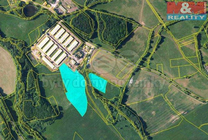 Prodej, orná půda, 26088 m2, Velké Chvojno