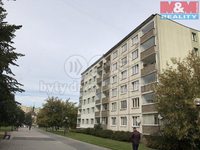 Pronájem, byt 3+1, 73 m2, Louny, ul. Náměstí Benedikta Rejta