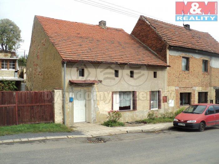 Prodej, rodinný dům 2+1, 70 m2, Hředle
