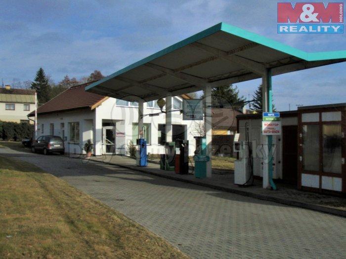 Prodej, čerpací stanice 3046m2, Radnice u Rokycan