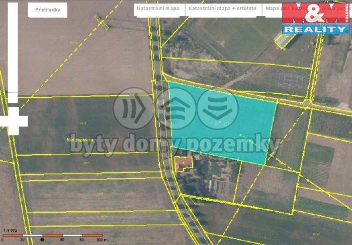 Prodej, pozemek, 6563 m2, Chodouny
