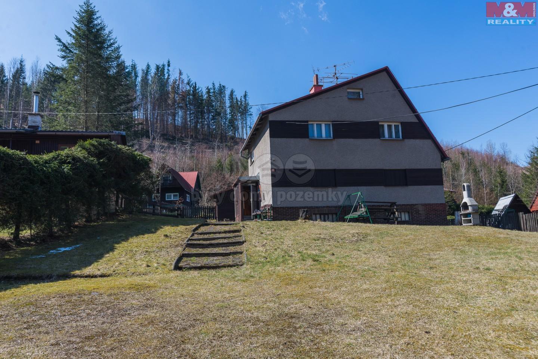 Prodej, chata 5+1, 61 m2, Dolní Lomná