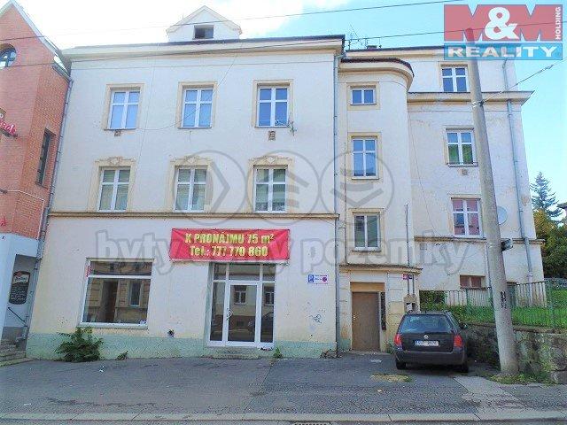 Pronájem, obchodní prostory, 76 m2, Ústí nad Labem - Klíše