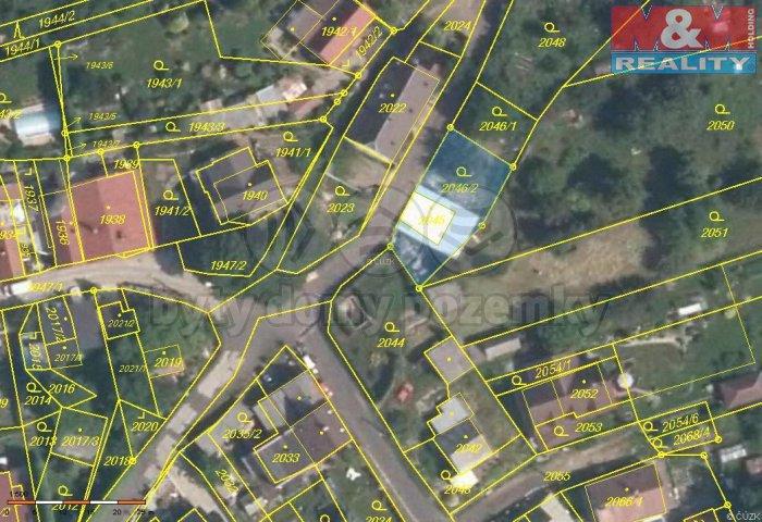 Prodej, stavební parcela, 315 m2, Klášterec nad Ohří
