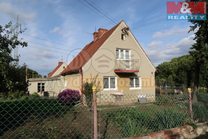 Prodej, rodinný dům 3+1, 2204 m2, Tuchořice