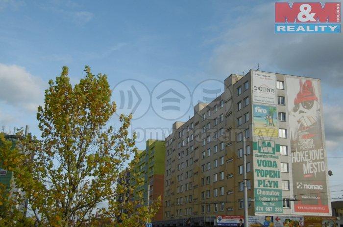 Pronájem, byt 1+1, 37 m2, Chomutov, ul. Palackého