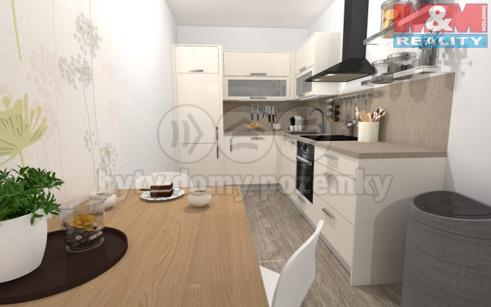 Prodej, byt 3+kk, 68 m2, Praha 4 Chodov