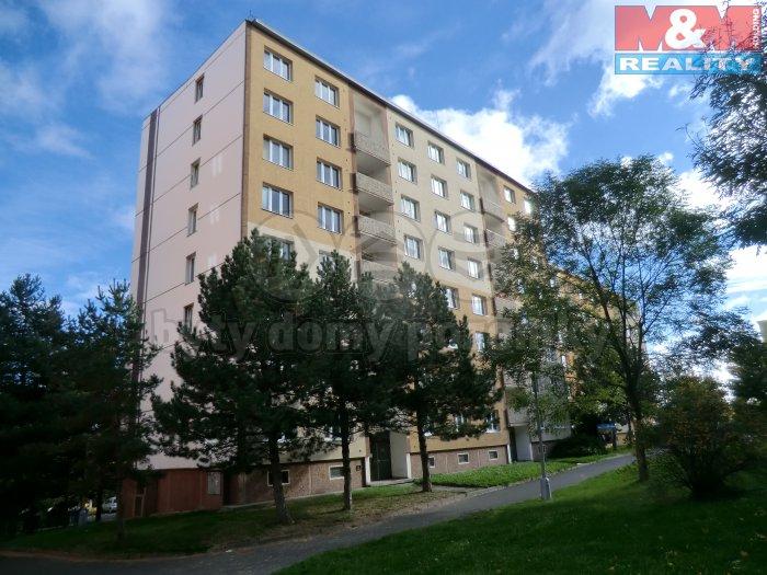Prodej, byt 1+1, 33 m2, DV, Chomutov, ul. Borová