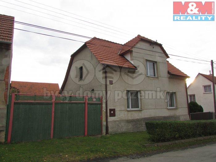 Prodej, rodinný dům 3+1, Mutějovice, ul. Na Příči