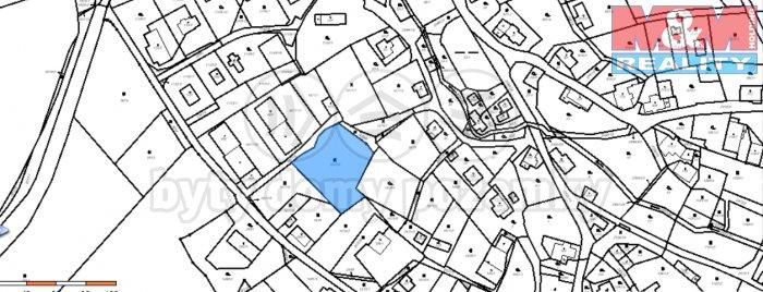 Prodej, pozemek, 1808 m2, Růžová