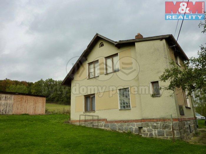 Prodej, rodinný dům 3+1, 1345 m2, Klatovy - Otín