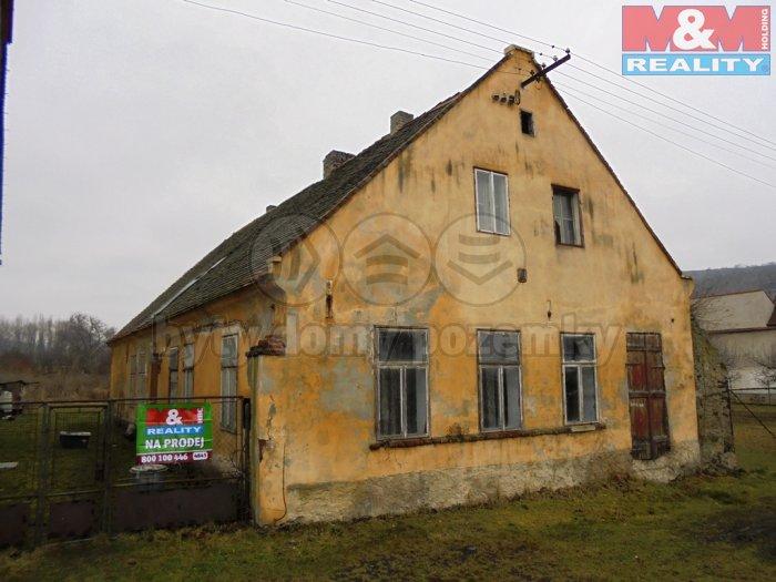 Prodej, rodinný dům 4+0, 1917 m2, Kadaň - Úhošťany