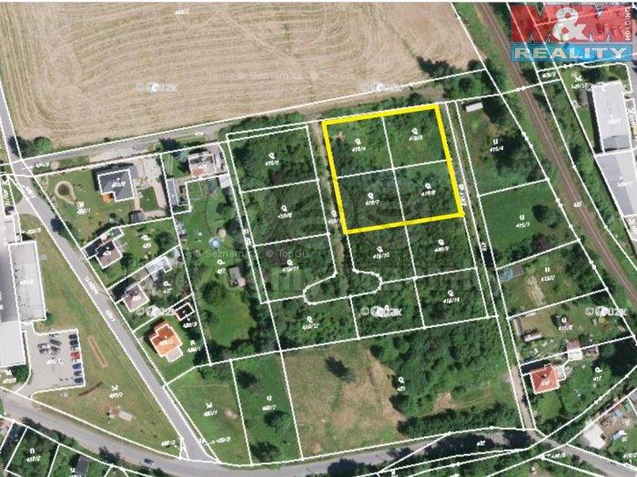 Prodej, stavební parcela, 2412 m2, Liberec
