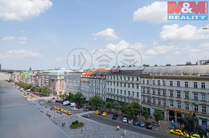 Pronájem, kancelářské prostory, 22m2, Praha, Václavské nám.
