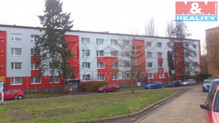 Pronájem, byt 2+kk, 36 m2, OV, Litoměřice, ul. Vrchlického