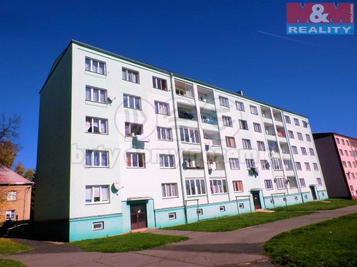 Prodej, byt 2+1, 56 m2, OV, Cheb, ul. Jungmannova