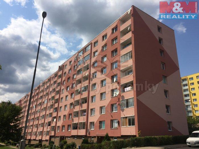Pronájem, byt 1+1, 36 m2, Jirkov, ul. K. Marxe