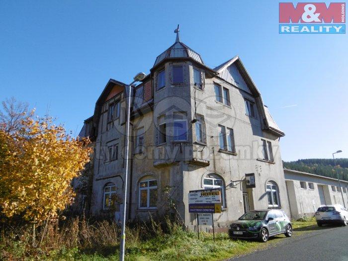 Prodej, rodinný dům, 555 m2, Vejprty - České Hamry